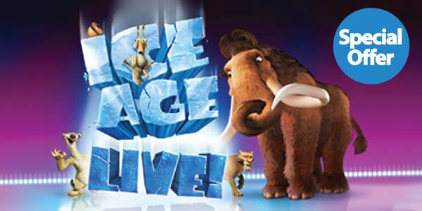 ICE AGE LIVE - Ticket Sale
