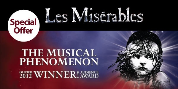 LES MISERABLES - Special Offer