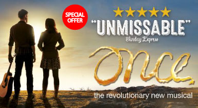 ONCE The Musical - Ticket Offer