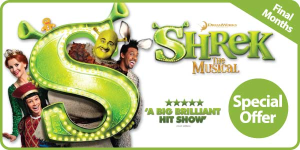 Shrek The Musical - Ticket Sale