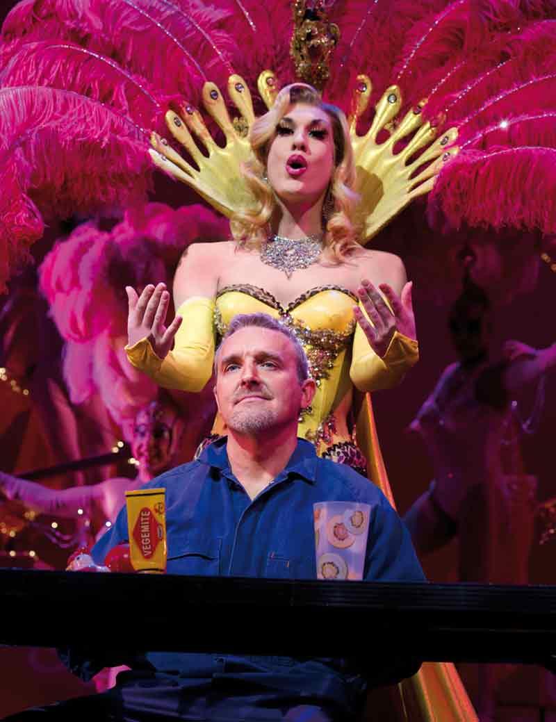Mark Moraghan and Steven Cleverley in Priscilla Queen of the Desert