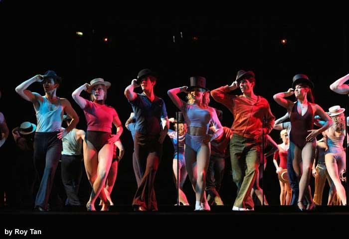 A Chorus Line at the London Palladium