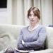 Absent Friends - Rehearsals: Elizabeth Berrington
