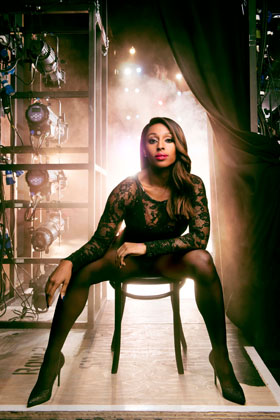 Alexandra Burke as Roxie Hart in Chicago (2)