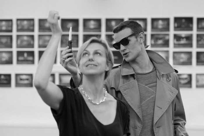 American Psycho at the Almeida Theatre - Rehearsal photos