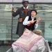 Eugene Washington and Joseph Wicks in Around the World in Eighty Days