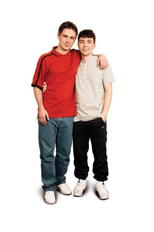 Danny-Boy Hatchard as Ste & Jake Davies as Jamie