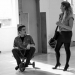 Beautiful Thing - Sam Jackson & Charlie Brooks in rehearsals