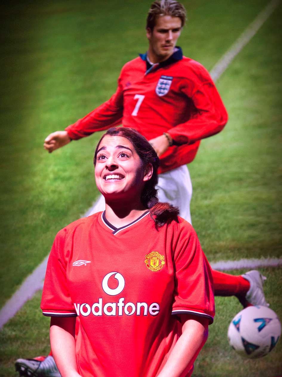 Natalie Dew (Jess) in Bend It Like Beckham The Musical
