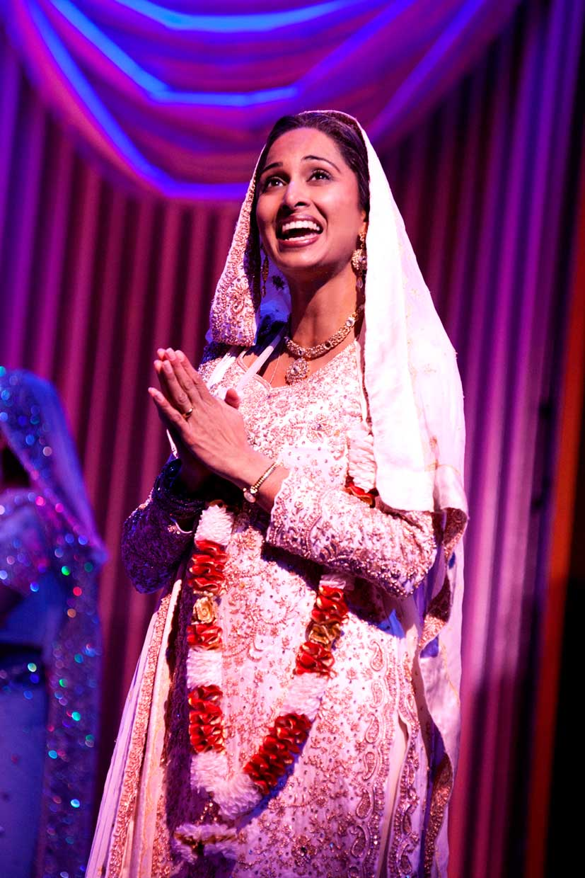Natasha Jayetileke (Mrs Bhamra) in Bend It Like Beckham The Musical.