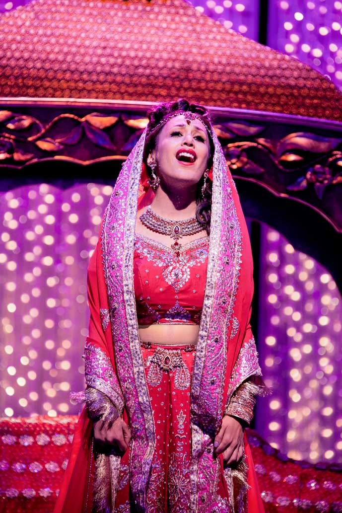 Preeya Kalidas (Pinky) in Bend It Like Beckham The Musical.