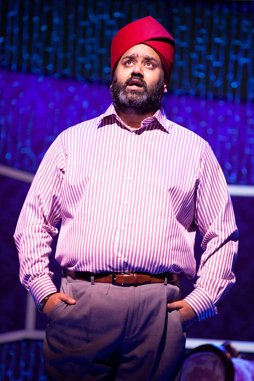 Tony Jayawardena (Mr Bhamra) in Bend It Like Beckham The Musical.