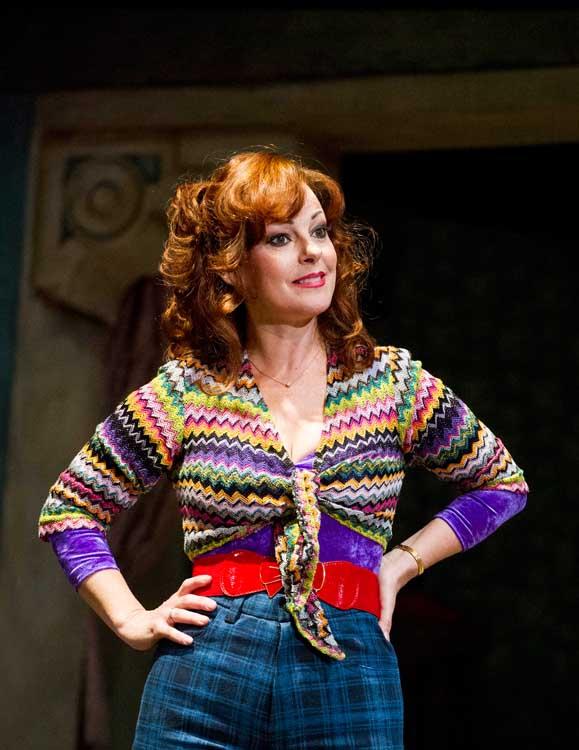 Mrs Wilkinson (Ruthie Henshall) in Billy Elliot the Musical. Photo credit Alastair Muir