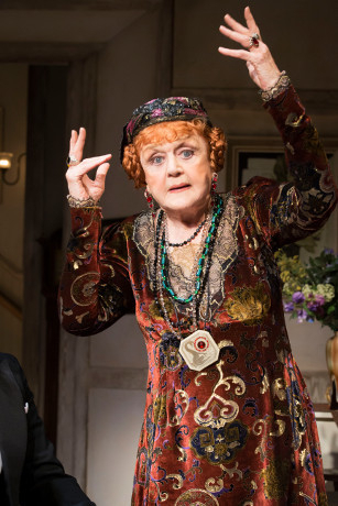 Blithe Spirit at the Gielgud Theatre starring Angela Lansbury