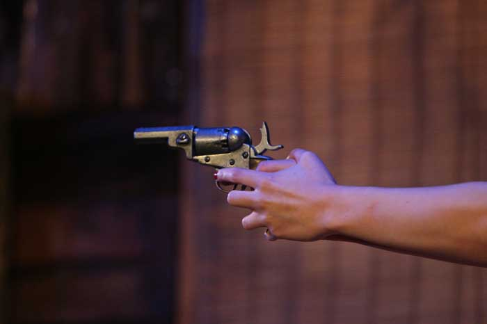 Bonnie and Clyde: The Musical at the King's Head Theatre