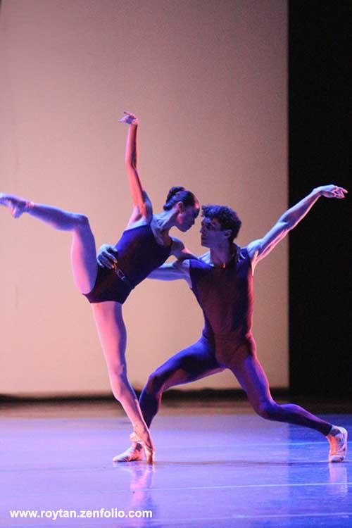 Lia Cirio and Lasha Khosashvili - Boston Ballet at the London Coliseum