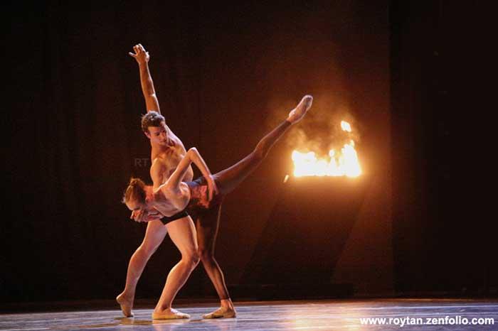 Rachel Cossar and Sabi Varga - Boston Ballet at the London Coliseum