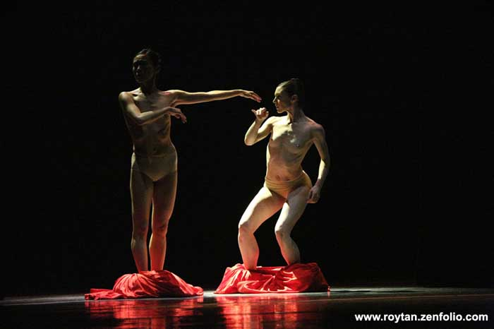 Rie Ichikawa and Kathleen Breen Combes - Boston Ballet at the London Coliseum