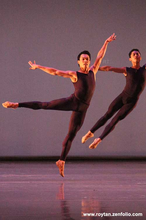 John Lam and Jeffrey Cirio - Boston Ballet at the London Coliseum