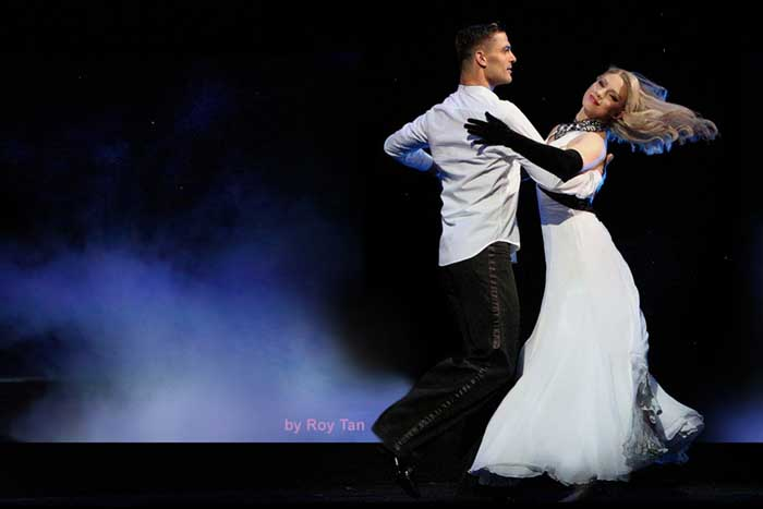 Burn The Floor at the Shaftesbury Theatre