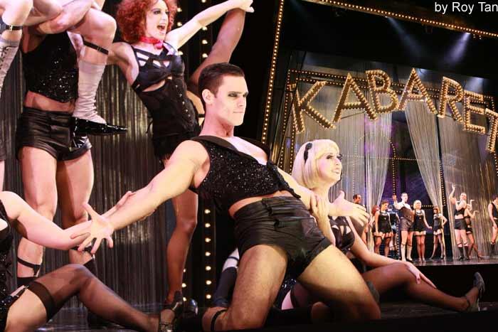 Cabaret at the Savoy Theatre.