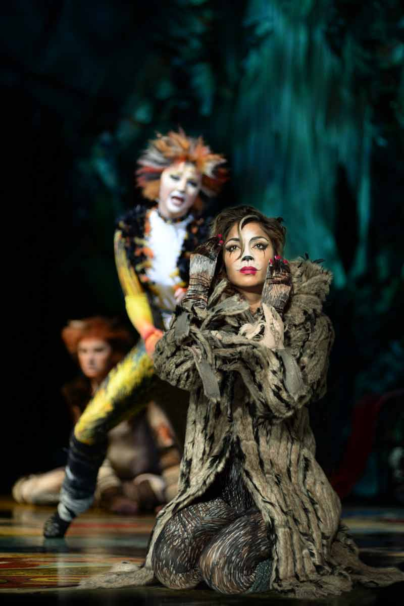 Nicole Scherzinger as Grizabella in CATS at the London Palladium