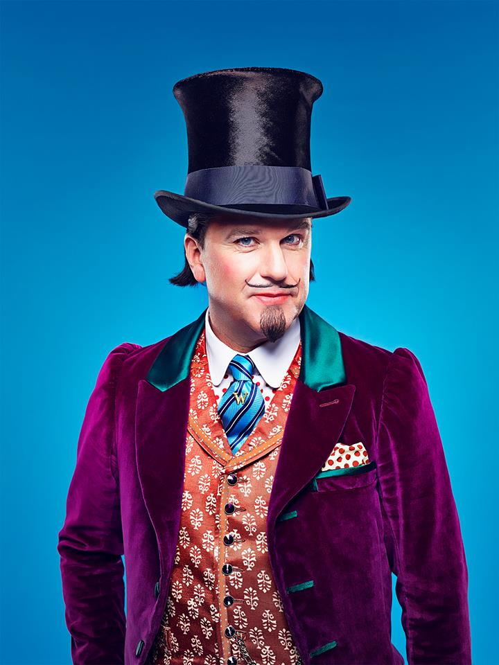 Douglas Hodge in Charlie and the Chocolate Factory at the Theatre Royal Drury Lane