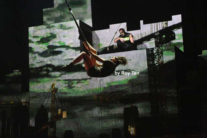 Cirque Eloize at the Peacock Theatre