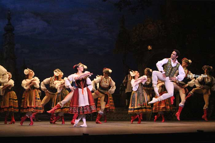 English National Ballet's Coppelia at the London Coliseum