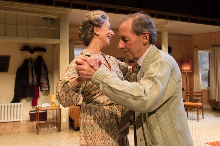 Daytona at the Theatre Royal Haymarket - Maureen Lipman and Harry Shearer. Photo: Manuel Harlan