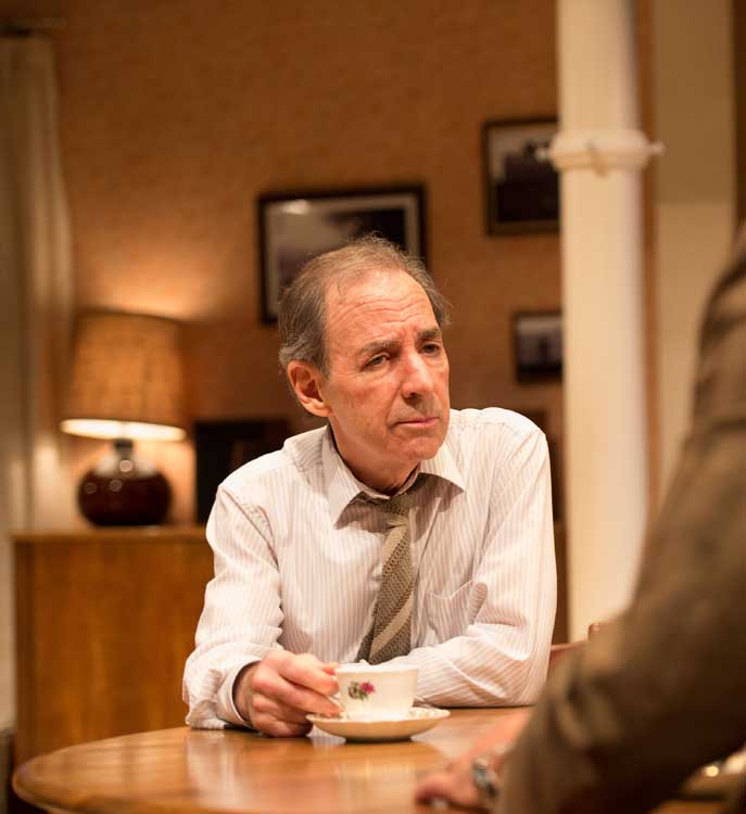 Daytona at the Theatre Royal Haymarket - Harry Shearer (Joe) in Daytona, photo by Manuel Harlan
