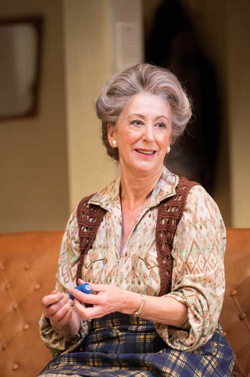 Daytona at the Theatre Royal Haymarket - Maureen Lipman (Elli) in Daytona, Photo Manuel Harlan