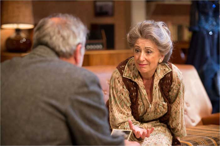 Daytona at the Theatre Royal Haymarket - Maureen Lipman and Harry Shearer