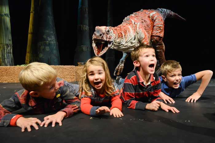 Dinosaur Zoo at the Phoenix Theatre
