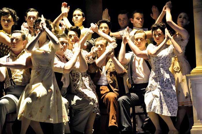 Evita at the Dominion Theatre