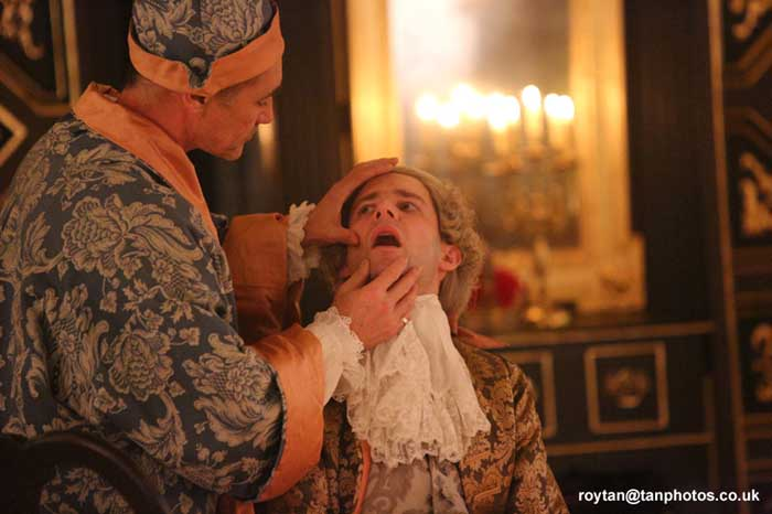 Farinelli and the King at the Sam Wanamaker Playhouse