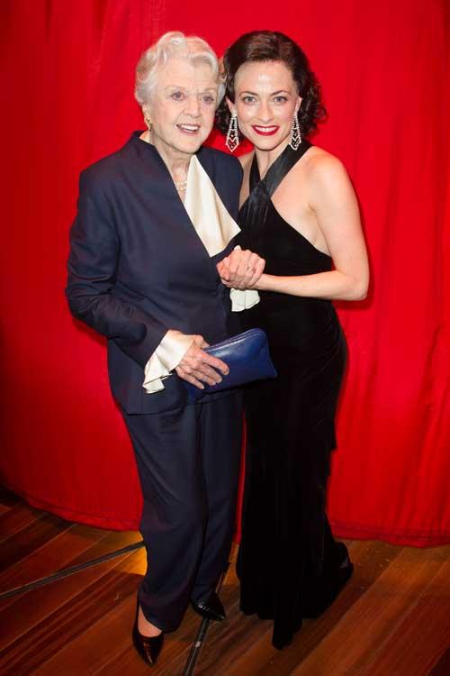 Angela Lansbury and Lara Pulver - Gypsy at the Savoy Theatre