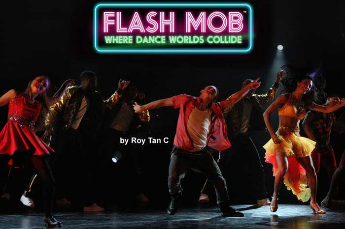 Flash Mob at the Peacock Theatre
