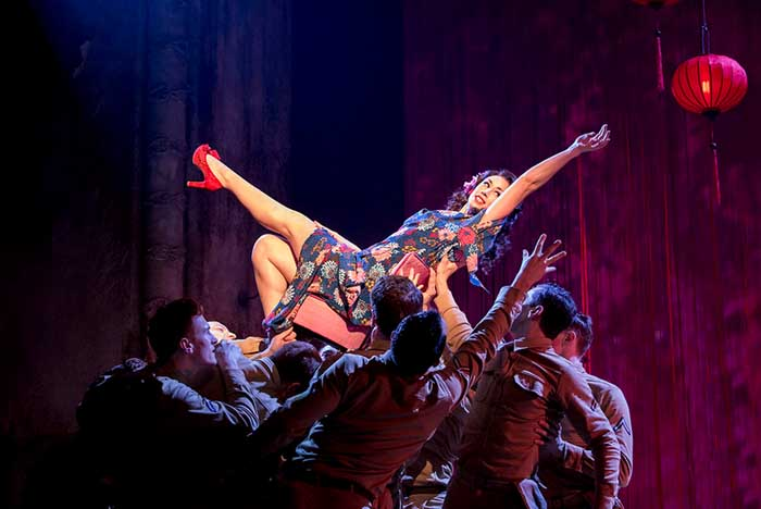 From Here To Eternity at the Shaftesbury Theatre