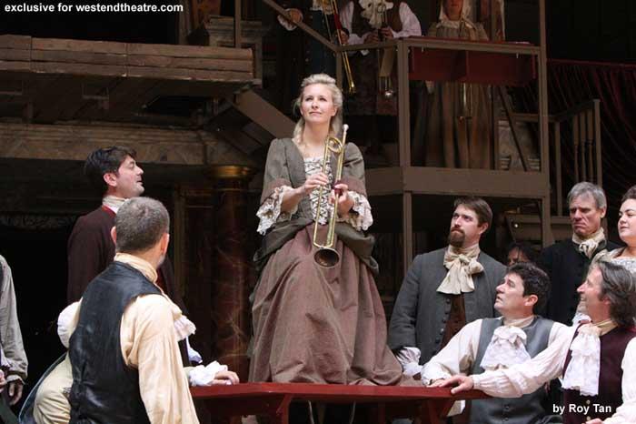 Gabriel by Samuel Adamson at Shakespeare\'s Globe
