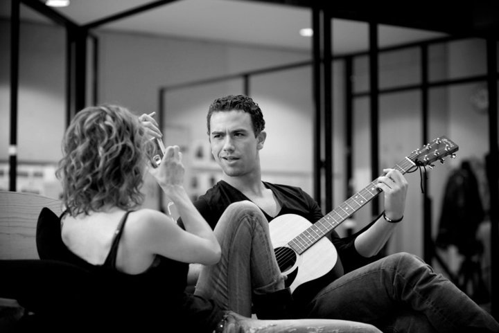 Richard Fleeshman and Caissie Levy in Ghost The Musical