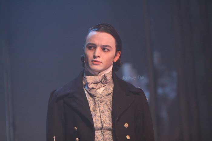 TAYLOR JAY-DAVIES in Great Expectations at the Vaudeville Theatre