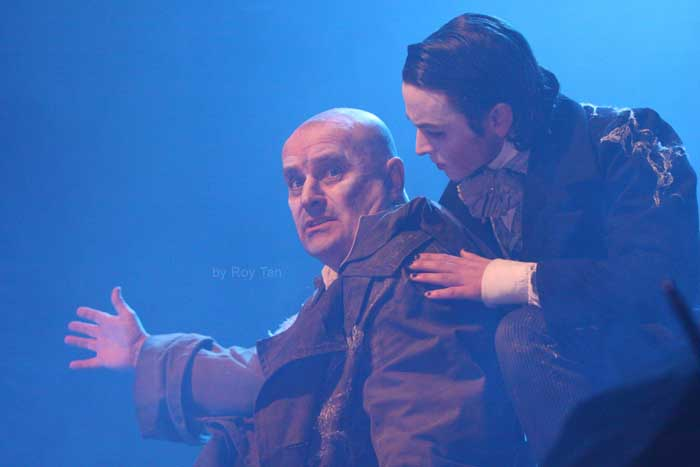 CHRIS ELLISON in Great Expectations at the Vaudeville Theatre