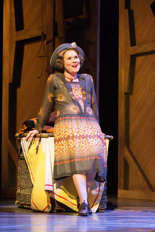 Gypsy starring Imelda Stuanton at the Savoy Theatre, London UK