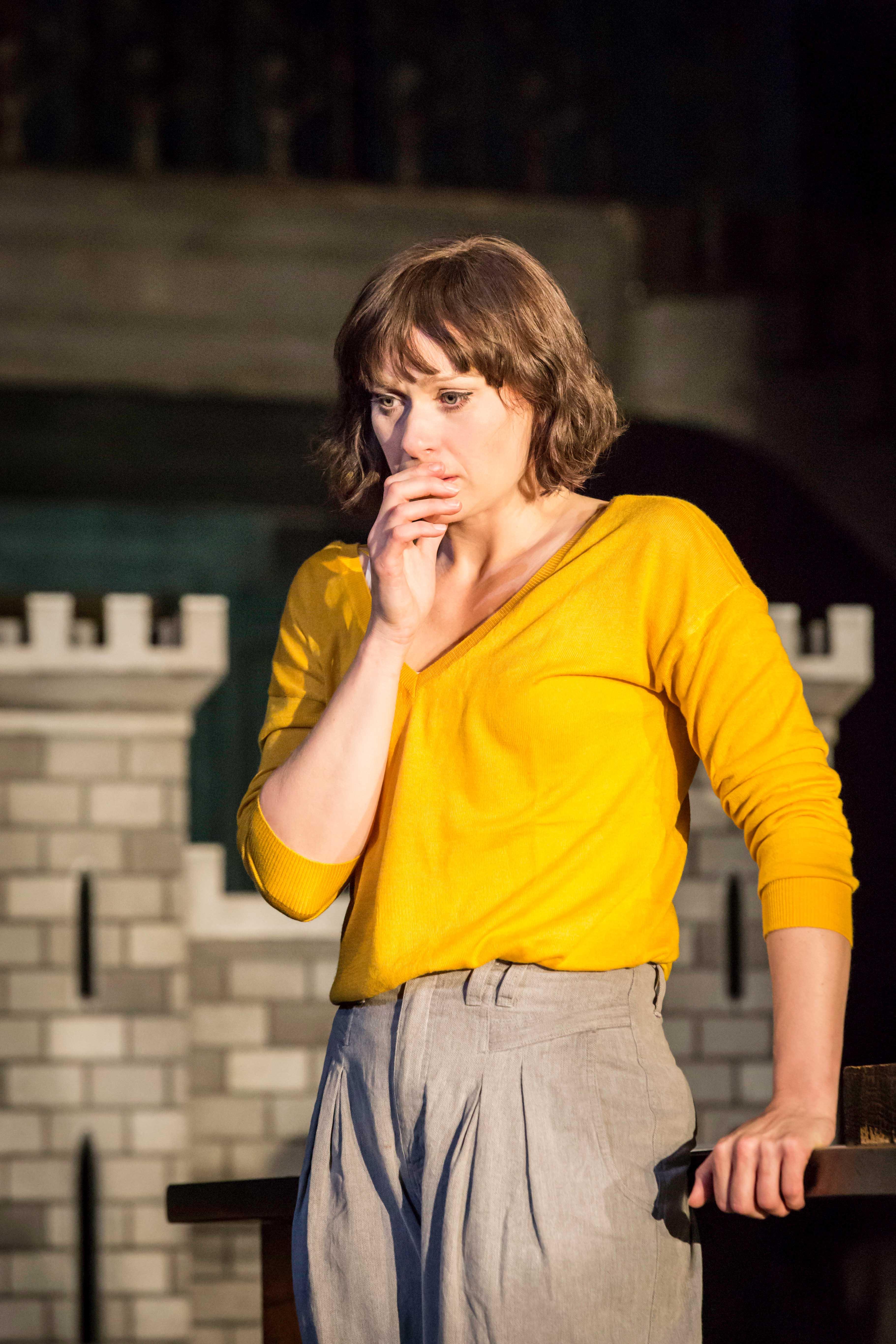 Siân Brooke as Ophelia in Hamletat the Barbican theatre