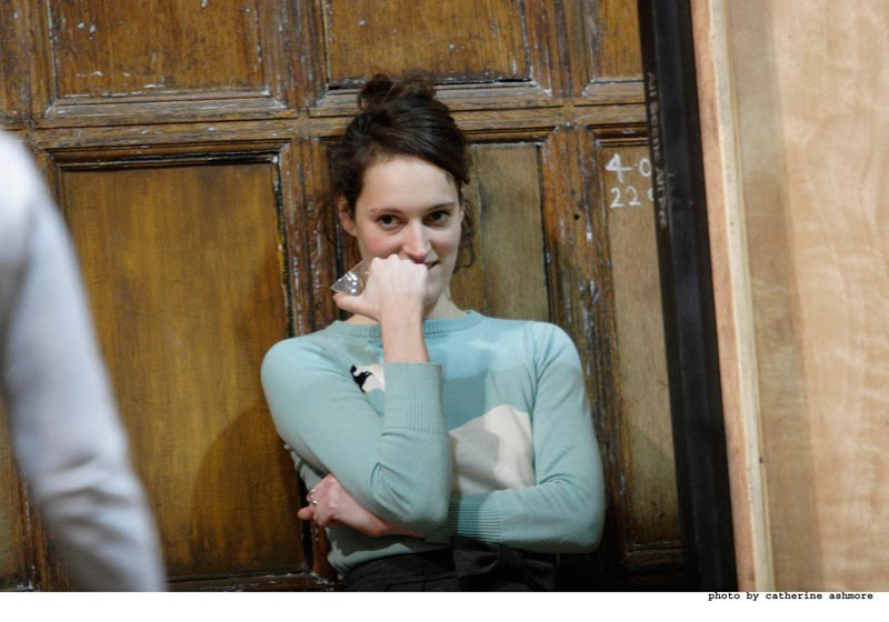 Hay Fever - Rehearsals: Phoebe Waller-Bridge