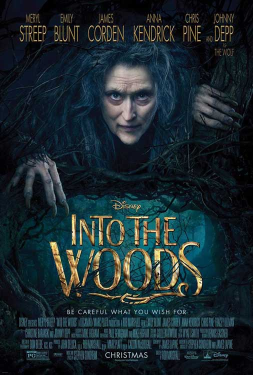Into the Woods Movie - new poster