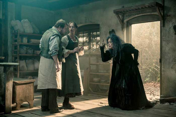 Into the Woods Movie - James Corden & Emily Blunt with Meryl Streep
