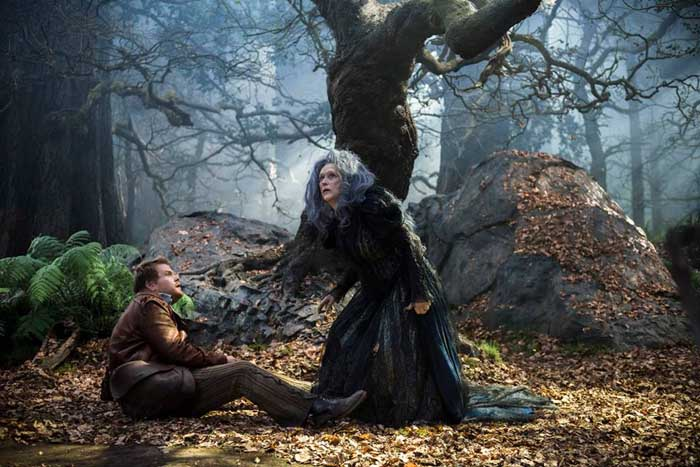 Into the Woods Movie - James Corden and Meryl Streep
