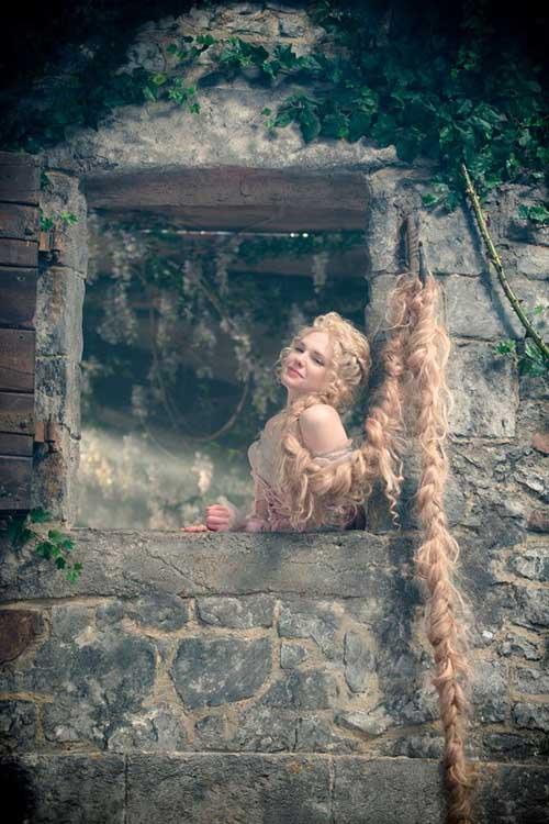 Into the Woods Movie - MacKenzie Mauzy stars as Rapunzel